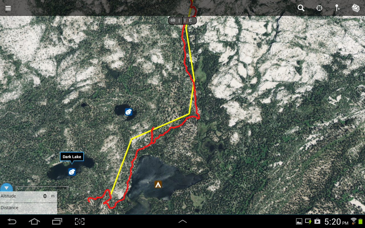 Topographie karte android