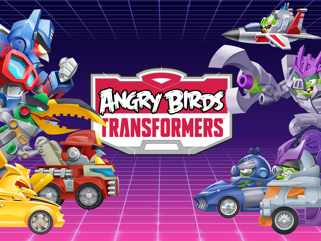 Screenshot von Angry Birds Transformers - Android App