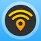 WiFi Map Pro - Passwörter für kostenlosen drahtlosen Internetzugang an öffentlichen Hotspots in Deutschland und weltweit