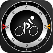 App Icon: Bike CycloComputer HUD - gps, odometer, altimeter, inclinometer and maps computer for your bike 1.7