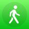 Stepz - Schrittzähler & Pedometer zum Tracking Deiner Schritte beim Gehen, Laufen und Wandern